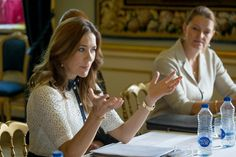 Queens & Princesses - Princess Mary chaired the meeting Princess Mary Foundation, which was held at the Royal Palace in Copenhagen.