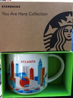 Atlanta Starbucks City Mug #Atlanta #Starbucks #CityMug
