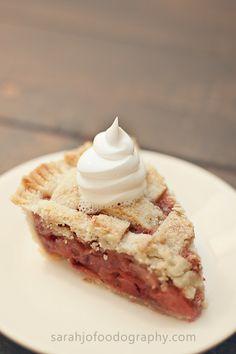 Yummy but simple strawberry pie recipe ♥