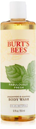Burt's Bees Fabulously Fresh Peppermint and Rosemary Body Wash, 12 fl. Oz. Burt's Bees http://www.amazon.com/dp/B001R2S8HM/ref=cm_sw_r_pi_dp_NnuGub1D4R727