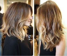 Balayage/ ombre highlights! I'm officially ready for spring n summa!