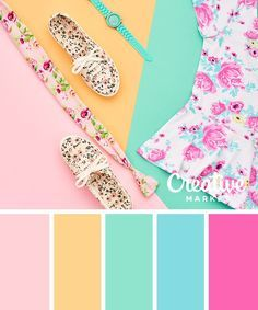 Spring and summer colors!