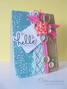 Clare Buswell for Core'dinations Cardtsock using @Paula manc Pederson USA adhesives!