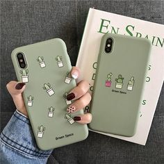 Cool Phone Cases 815362707520414099 - Green Cactus Summer iPhone Case Protector Phone Cover Source by Diy Phone Case, Cute Phone Cases, Iphone Phone Cases, Iphone Case Covers, Cool Iphone Cases, Cute Cases, Couples Phone Cases, Green Cactus, Cactus Vert