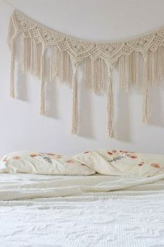 Macrame Bunting, Large, Morocco - Modern Macrame, Bunting, Wedding Decor, Bohemian, Dramatic, Moroccan, Handmade, Unique