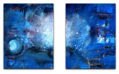 BURGSTALLER Abstrakt Gemälde ORIGINAL Bilder Kunst Malerei Unikat Bild SUPERNOVA - Burgstallers Art Galerie - eBay Shop für Original Acryl Gemälde - Abstrakte und Gegenständliche Kunst