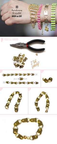 Hardware Bracelet | 10 Ways To Turn Your Hardware Store Into A JewelryStore