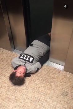 Cameron Dallas sleeping in random places...