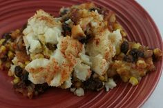 Slow Cooker Vegetarian Chili Shepherd's Pie - A Year of Slow Cooking