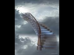 Stairs to heaven Heaven Images, Heaven Pictures, Heaven Tattoos, Meditation Videos, Stairway To Heaven, Celestial, Thing 1, Stairways, Pathways