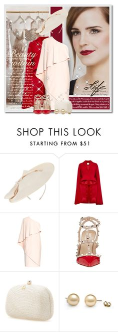 """Beauty Within"" by petri5 ❤ liked on Polyvore featuring Emma Watson, John Lewis, Delpozo, Givenchy, Valentino and Serpui"