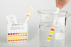 Skin has a pH of 5.5. This means it is slightly acidic. The acidity of your skin is very important. It needs to stay that way. One reason is, the acidity kills bacteria & other harmful microorganisms. A skin care product that is at a different pH from your skin can mess up your skin's pH balance, causing all sorts of issues (damaged Barrier). Bar soap, which is alkaline, is an example. You can test your skin care products with pH strips such as the ones shown here. Available at drugstores.
