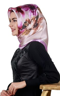 Head Coverings, Headscarves, Turkish Fashion, Hijabs, Amber, Satin, Silk, Elegant, Beauty