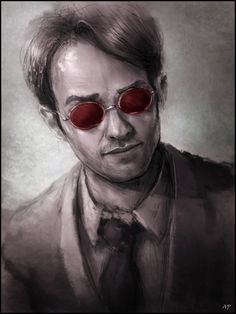 Do you like Daredevil? Speed painting (Fan art) time: h Used photo reference of Charlie Cox process: basic sketch, base value, s. Marvel Comic Universe, Comics Universe, Marvel Dc Comics, Marvel Cinematic Universe, Rogue Character, Marvel Comic Character, Daredevil Tv Series, Avengers Shield, Marvel Entertainment