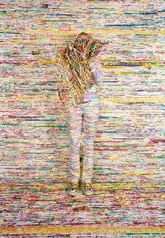 "Rachel Perry Welty, ""Lost in my Life"" (Twist Ties), 2009"