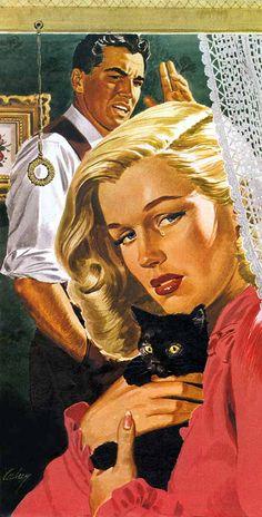 Earl Cordrey  Colliers 1944  'Front door to Love'