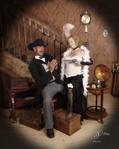 """""""If this means I'm not """"lady-like"""", then I guess I'm just not a lady!"""" Get shot at Silk's Saloon Olde Tyme Photos in Glenwood Springs, CO! Photo Poses, Photo Shoots, Old Time Photos, Western Parties, Get Shot, Westerns, Colorado, Adventure, Couple Photos"""