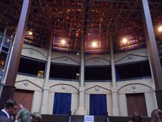 Pop Up Globe Stage Auckland Shakespeare New Zealand
