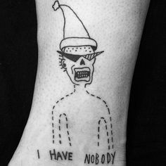 Nihilist Tattoos by Sean from Texas. No body