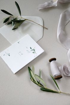 Botanical Wedding Invitations by Love Prints