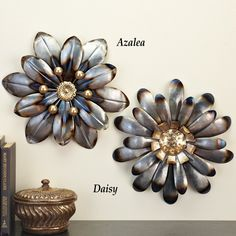 """See our site for additional relevant information on """"metal tree wall art"""". It is actually an outstanding spot to read more. Unique Flowers, Metal Flowers, Daisy Flowers, Metal Tree Wall Art, Metal Art, Metal Flower Wall Decor, Primitive Candles, Tree Art, Metal Walls"""