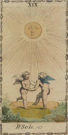 ☤alquimia - Ancient Tarot of Lombardy - The Sun