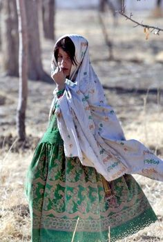 Afghan girl: the textiles of the afghan Pakistan Iran etc . Countries never cease to inspire me...