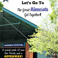 Minnesota State Fair Giveaway and Sneak Peek! Come check out the new foods at the @mnstatefair and enter the giveaway to win a day for 2 that includes admission, midway tickets, a blue ribbon bargain book and concert tickets!