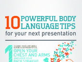 Public Speaking badges - 10 Powerful Body Language Tips for your next Presentation