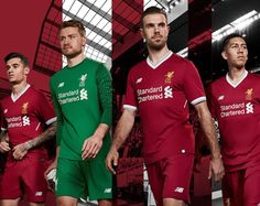 Win the new Liverpool home shirt for 2017/18