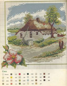 200 best images about Embroidery / Houses on Pinterest | Japanese ...