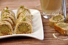 ciasteczka pistacjowe z marcepanem