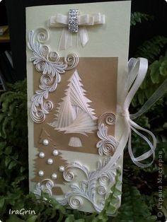Postales Del CUMPLEAÑOS Del Año Nuevo Boda Maratón Iris plegable tiras de cinta de Papel Quilling My Christmas 14 fotos