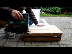 How to make a BIN CAGE for hamsters - YouTube
