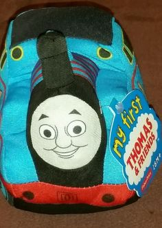 My first Thomas the Tank Engine train plush soft toy Fisher Price christmas idea