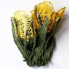 【楽天市場】トルコのレース「オヤ」チューリップブローチかぎ針編みのトゥオヤ:ガラタバザール(キリム&雑貨)