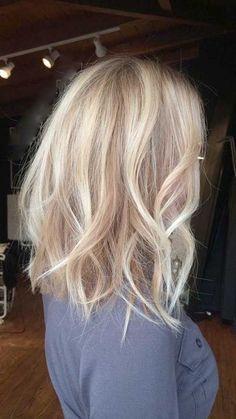 les plus belles idées de cheveux mi-longs spécial saint valentin | Coiffure simple et facile