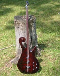 Wes Falks' 2-string Bass