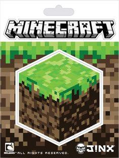 Minecraft - Dirt Block Sticker Klistermærker