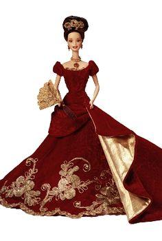Barbie, Holiday Ball Porcelain Barbie Doll