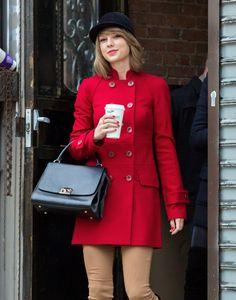 Celebrity Sightings In New York City - January 17, 2015