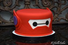 Baymax theme cake by K Noelle Cakes - For all your cake decorating supplies, ple. 6 Cake, Cupcake Cakes, Cake Fondant, Big Hero 6 Party Ideas, Baymax, Cupcakes Decorados, Superhero Cake, Cake Decorating Supplies, Disney Cakes