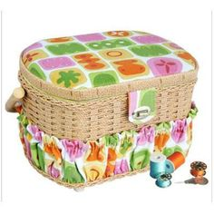 Lil Sew 42pc Sewing Basket