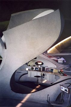 AD Classics: TWA Terminal / Eero Saarinen - © Flickr – User: So Cal Metro