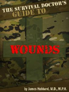 """Learn Dr. Hubbard's best tips for surviving emergencies when you can't get to a doctor through the new interactive """"The Survival Doctor's Guide"""" books."""