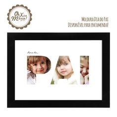 Moldua Dia do Pai Father's day frame
