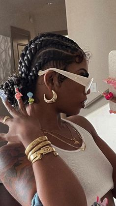 Black Girl Braided Hairstyles, Black Girl Braids, Braids For Black Hair, Girls Braids, Black Girl Hair, Braids Hairstyles Pictures, Box Braids Hairstyles, Protective Hairstyles, Baddie Hairstyles