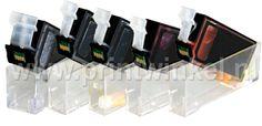 Canonbundel: CLI-521 serie + PGI-520PGBK (met chip)