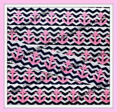 New 1 3 or 5 yards 7/8 Nautical GLITTER Pink by WhimsyRibbonShop, $1.69