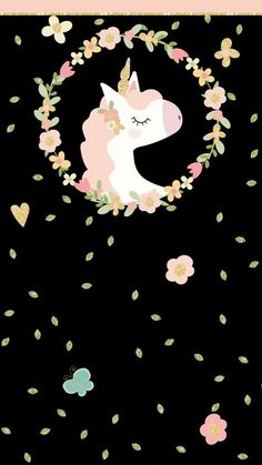 No vas a dejar de ver ni un segundo este hermoso fondo de pantalla de Unicornio Unicornios Wallpaper, Lock Screen Wallpaper Iphone, Trendy Wallpaper, Cellphone Wallpaper, Cute Wallpapers, Wallpaper Backgrounds, Unicorn Art, Unicorn Quotes, Wall Art Prints